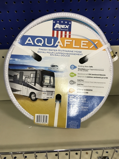 full time rv life, water hose